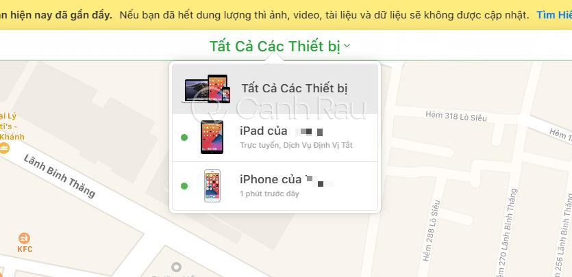 Find my iPhone là gì hinh 7