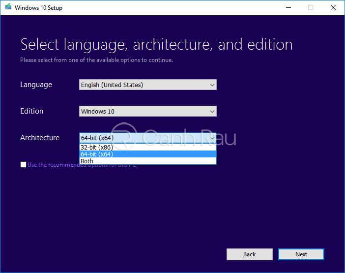 Hướng dẫn cách tải Win 10 ISO chính thức từ Microsoft hình 9