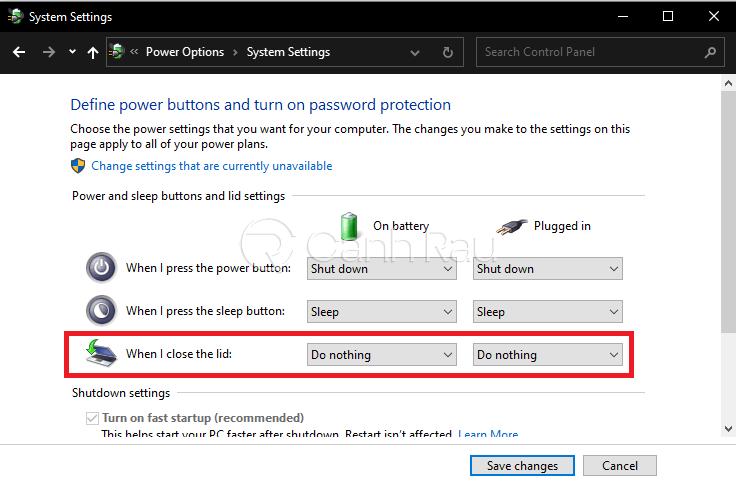 Hướng dẫn cách tắt màn hình Laptop Windows 10 mà máy vẫn chạy hình 3