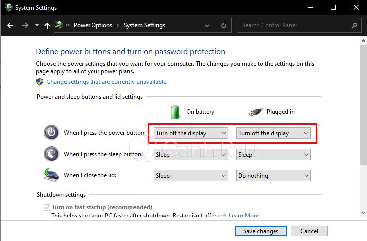 Hướng dẫn cách tắt màn hình Laptop Windows 10 mà máy vẫn chạy hình 6