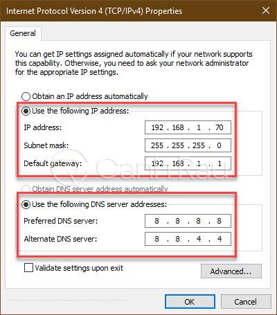 Hướng dẫn sửa lỗi kết nối thất bại Garena hình 6