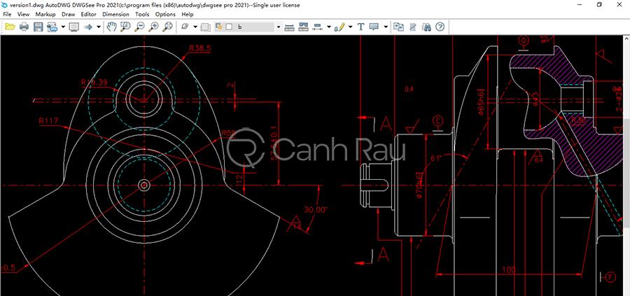 Phần mềm đọc đuôi file DWG hình 3