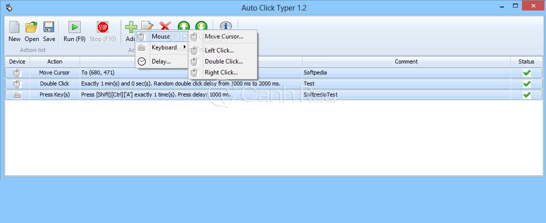 Các phần mềm auto click chuột hình 2