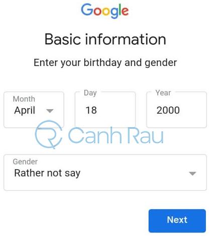 Cách tạo Gmail mà không cần số điện thoại hình 16