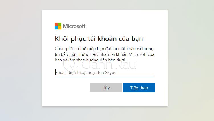 Cách vào máy tính khi quên mật khẩu hình 13