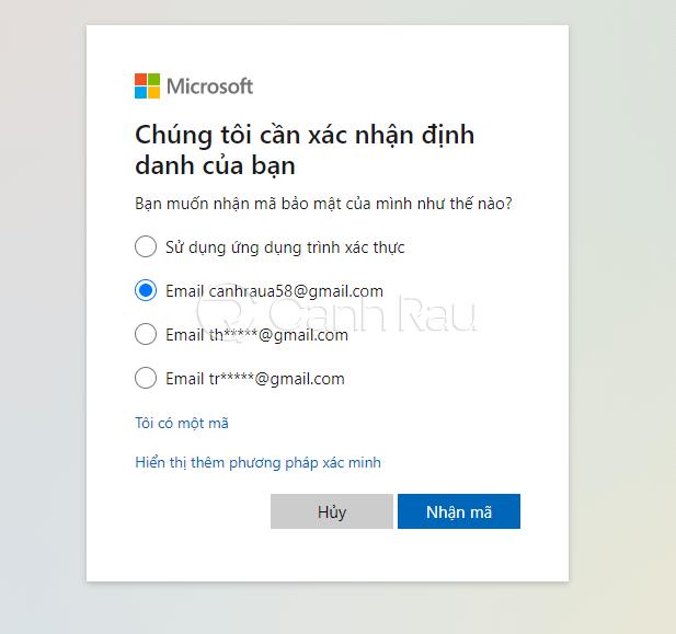 Cách vào máy tính khi quên mật khẩu hình 14