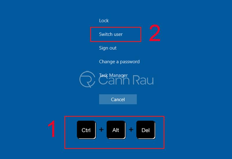Cách vào máy tính khi quên mật khẩu hình 3