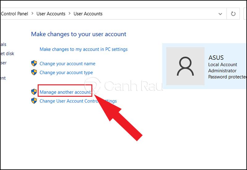 Cách vào máy tính khi quên mật khẩu hình 6