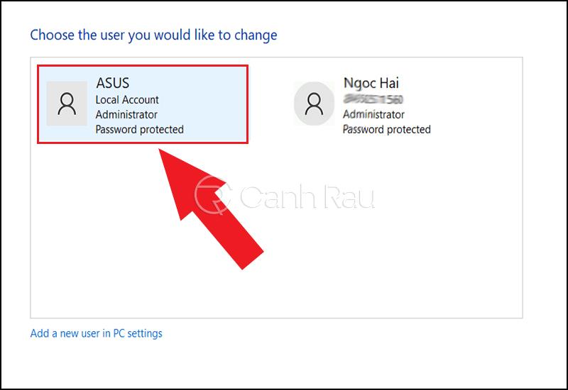 Cách vào máy tính khi quên mật khẩu hình 7