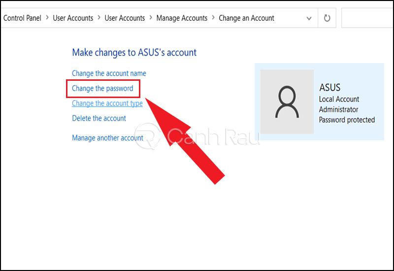 Cách vào máy tính khi quên mật khẩu hình 8