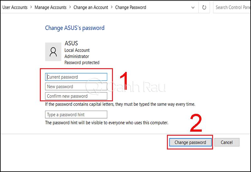 Cách vào máy tính khi quên mật khẩu hình 9