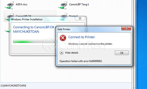 Hướng dẫn cách kết nối máy in với máy tính laptop Windows 10 hình 8