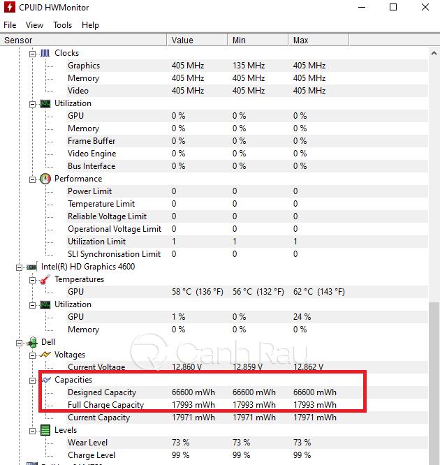 Hướng dẫn cách kiểm tra độ chai pin của Laptop hình 9