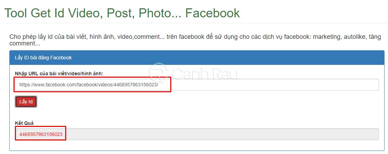 Hướng dẫn cách lấy ID bài viết Facebook hình 10
