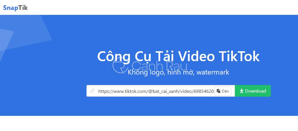 Hướng dẫn cách tải video Tiktok không logo hình 2