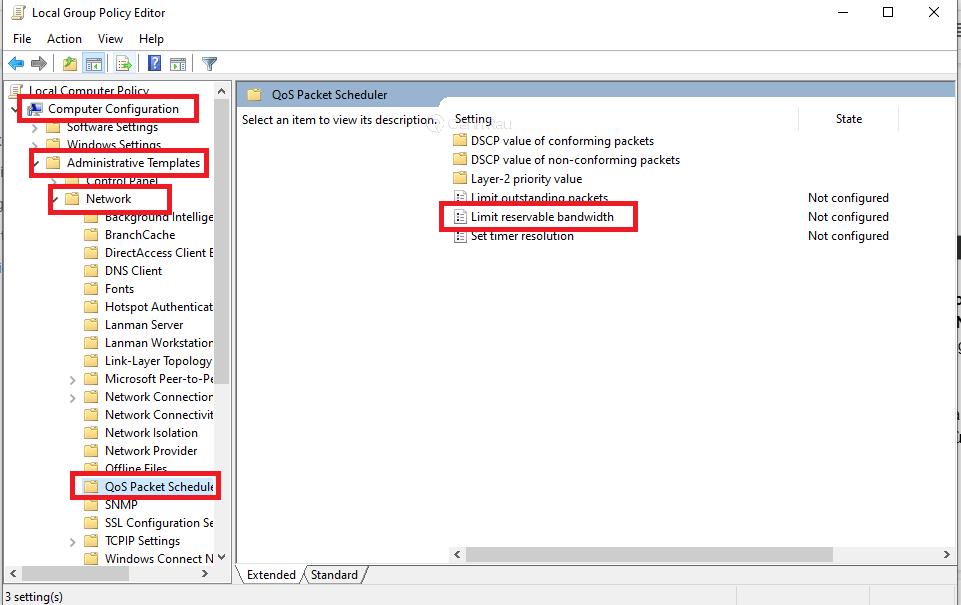 Cách tăng tốc độ mạng cho máy tính Windows 10 hình 14