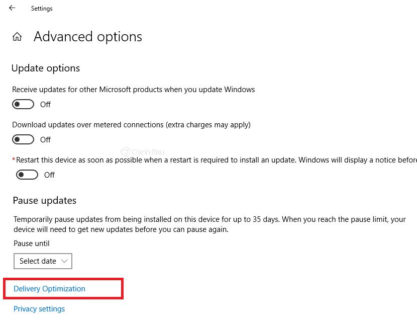 Cách tăng tốc độ mạng cho máy tính Windows 10 hình 4
