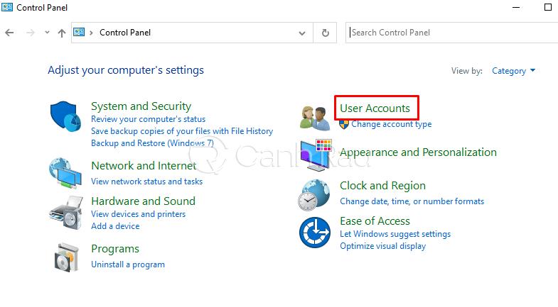 Hướng dẫn cách đổi mật khẩu máy tính Windows 10 hình 6