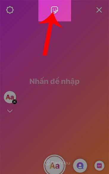 Hướng dẫn cách tạo Sticker trên Instagram hình 3