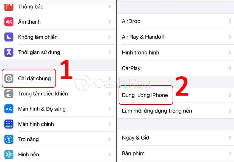 Hướng dẫn cách xóa bộ nhớ đệm trên điện thoại iPhone hình 5