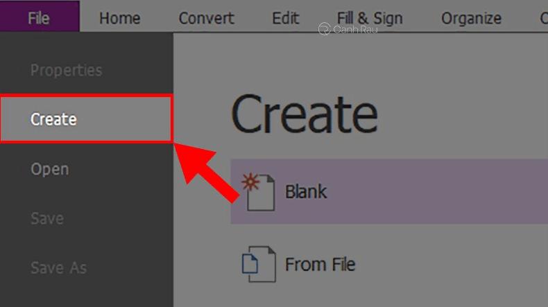 Hướng dẫn ghép file PDF bằng Foxit Reader hình 1